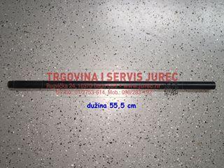 Slika od cijev vode TOMOS T 4 kratka