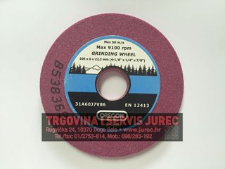 Slika od Brusna ploča 105x6x22,2 mm
