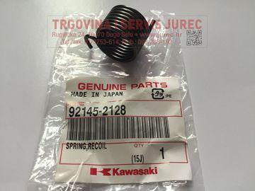 Slika od opruga startera Kawasaki TJ 27 DX