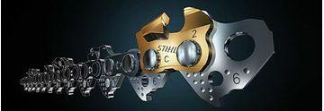 Slika od Lanac za motornu pilu 3/8″, 33 zuba (66 čl.) VIDIA, 1.6 – Stihl