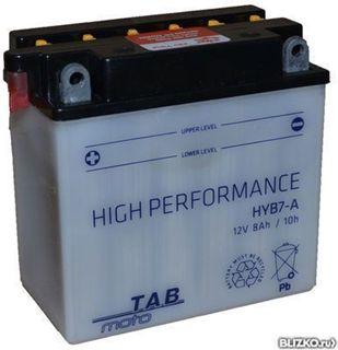 Slika od Akumulator TAB MOTO HYB7-A 12V 8aH 90A