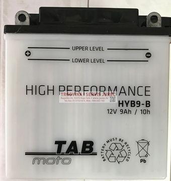 Slika od Akumulator TAB MOTO HYB9-B 12V 9Ah +L