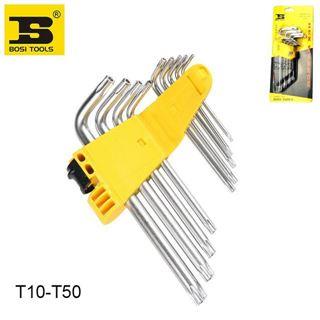 Slika od Set Torx Ključeva T10-T50 s rupom