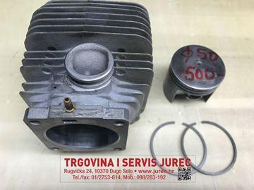 Slika od STIHL 045 cilindar s klipom i prstenovima