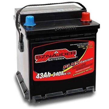 Slika od Akumulator SZNAJDER 43Ah/380A D+ PUNTO