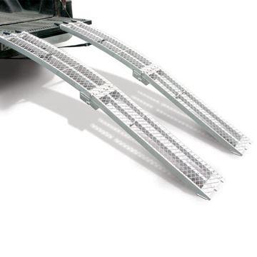 Slika od Utovarne aluminijske rampe preklopne PROFESIONALNE