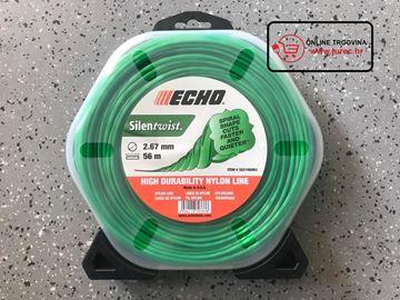 Slika od ECHO profesionalna rezna nit za trimere 2.67mm/56m