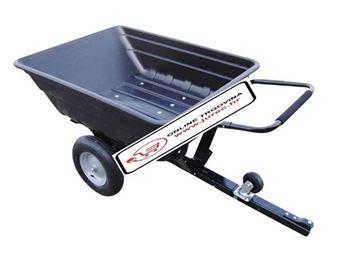 Slika od PRIKOLICA ZA VRTNI TRAKTOR nosivost 250kg