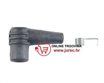 Slika od Kapica svjećice gumena s oprugom 90° (motorne pile)