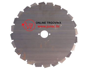 Slika od Pila za trimer Ø225×25,4mm za šikaru, gusto grmlje, manja stabla