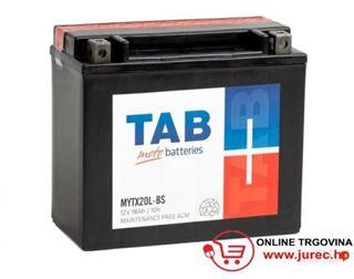 Slika od Akumulator TAB MOTO 12V-18 L AH BS